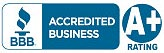 Better Busiiness Bureau Accredited Business With A Plus Rating